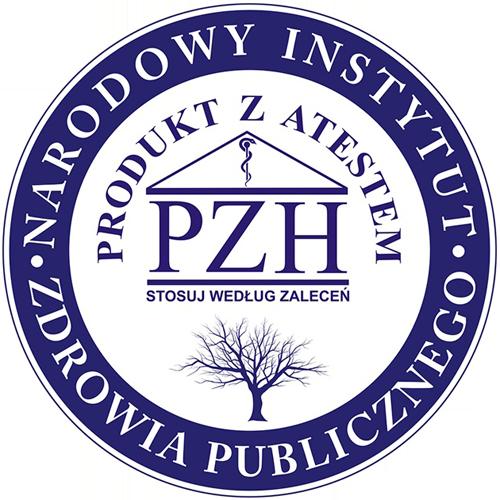Atest PZH - Sandezia Sucha Dezynfekcja