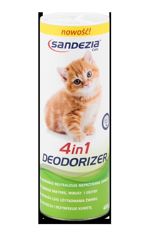 Sandezia Sucha Dezynfekcja - 4in1 Deodorizer